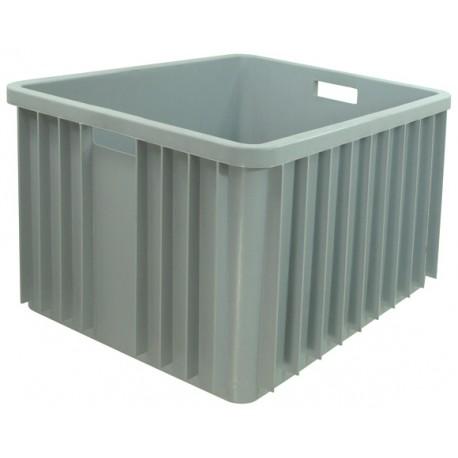 Pojemnik plastikowy transportowy skrzynia 800x600x450 szary