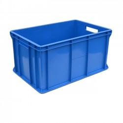 Pojemnik skrzynka plastikowa pełna 300 NIEBIESKA PEART