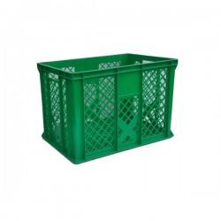 Zobacz większe Pojemnik skrzynka plastikowa 410 ZIELONA AZART