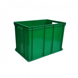 Pojemnik skrzynka plastikowa 410 ZIELONA PEART