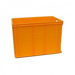 Pojemnik skrzynka plastikowa pełna 410 ŻÓŁTA PEART