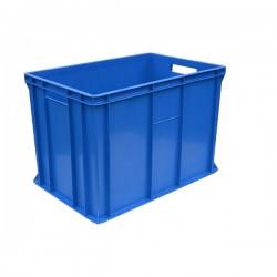 Pojemnik skrzynka plastikowa pełna 410 NIEBIESKA PEART