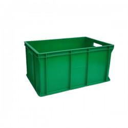 Pojemnik skrzynka plastikowa pełna 300 ZIELONA PEART