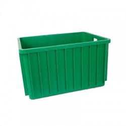 Pojemnik plastikowy transportowy skrzynia 800x600x450 zielony