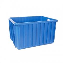 Pojemnik plastikowy transportowy skrzynia 800x600x450 niebieski