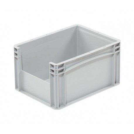 Pojemnik plastikowy z oknem inspekcyjnym B/LW 400x300x220