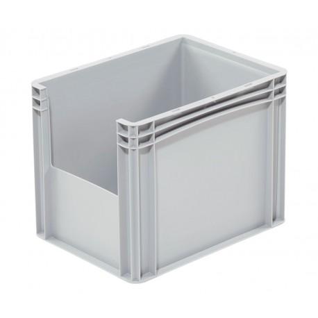 Pojemnik plastikowy z oknem inspekcyjnym B/LW 400x300x320