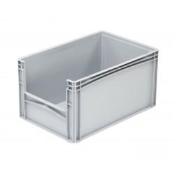 Pojemnik plastikowy z oknem inspekcyjnym B/LW 600x400x320